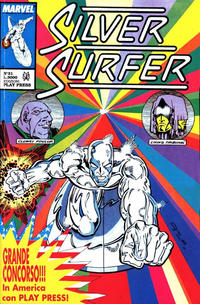 Cover Thumbnail for Silver Surfer (Play Press, 1989 series) #31