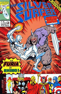 Cover for Silver Surfer (Play Press, 1989 series) #45