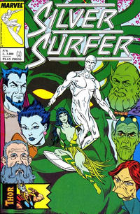 Cover Thumbnail for Silver Surfer (Play Press, 1989 series) #6