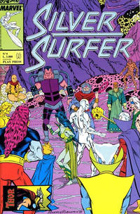 Cover Thumbnail for Silver Surfer (Play Press, 1989 series) #4