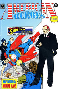 Cover Thumbnail for American Heroes (Play Press, 1991 series) #33