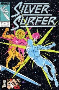 Cover Thumbnail for Silver Surfer (Play Press, 1989 series) #3