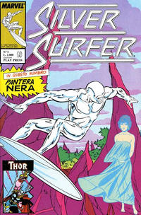 Cover Thumbnail for Silver Surfer (Play Press, 1989 series) #2
