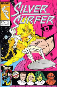 Cover Thumbnail for Silver Surfer (Play Press, 1989 series) #1