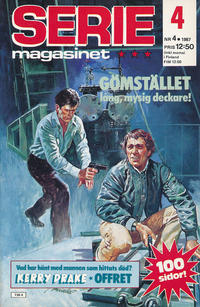 Cover Thumbnail for Seriemagasinet (Semic, 1970 series) #4/1987