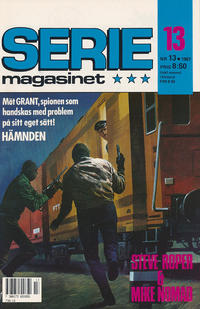 Cover Thumbnail for Seriemagasinet (Semic, 1970 series) #13/1987