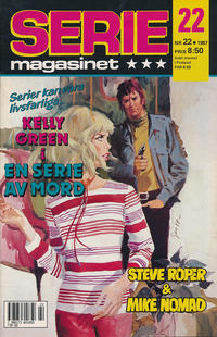 Cover Thumbnail for Seriemagasinet (Semic, 1970 series) #22/1987