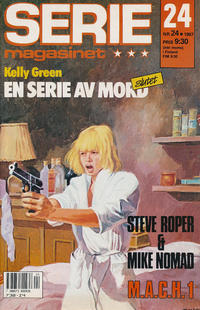 Cover Thumbnail for Seriemagasinet (Semic, 1970 series) #24/1987