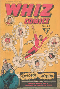 Cover Thumbnail for Whiz Comics (Cleland, 1946 series) #72