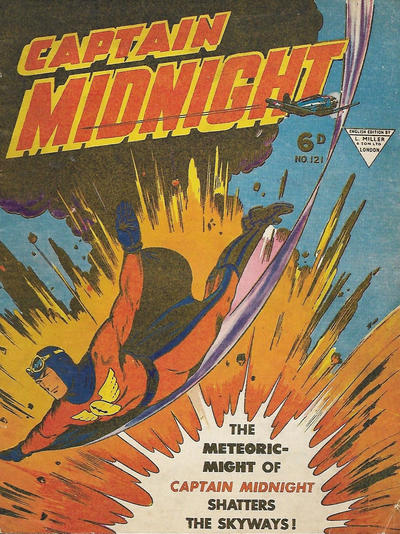 Cover for Captain Midnight (L. Miller & Son, 1950 series) #121