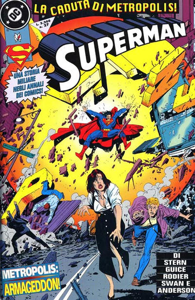 Cover for Superman (Play Press, 1993 series) #27