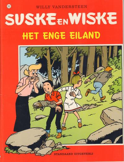 Cover for Suske en Wiske (Standaard Uitgeverij, 1967 series) #262 - Het enge eiland