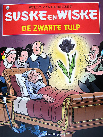 Cover for Suske en Wiske (Standaard Uitgeverij, 1967 series) #326 - De zwarte tulp