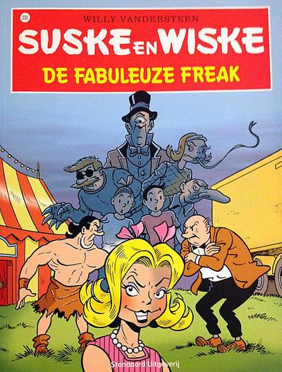 Cover for Suske en Wiske (Standaard Uitgeverij, 1967 series) #330 - De fabuleuze freak