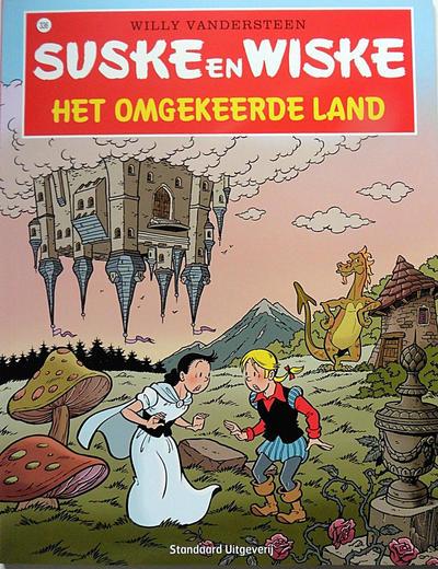 Cover for Suske en Wiske (Standaard Uitgeverij, 1967 series) #336 - Het omgekeerde land