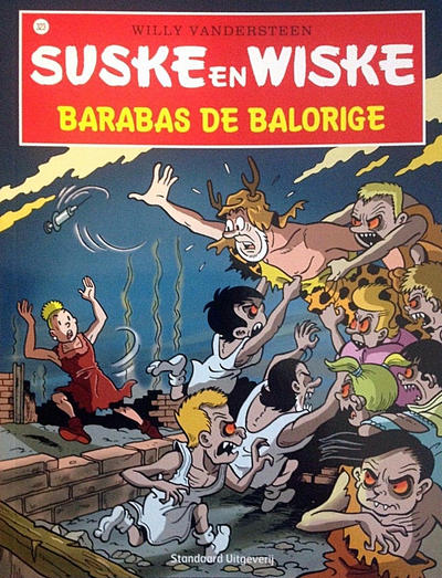 Cover for Suske en Wiske (Standaard Uitgeverij, 1967 series) #323 - Barabas de balorige