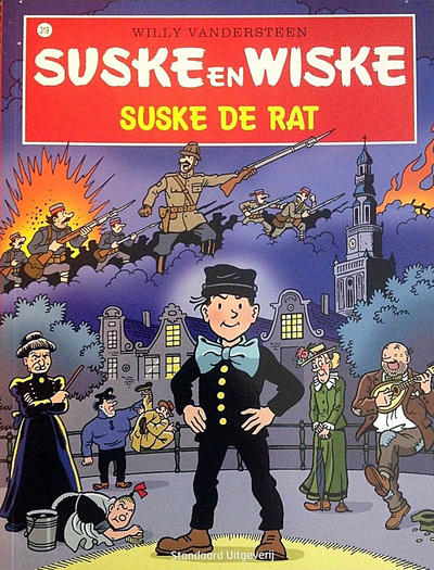 Cover for Suske en Wiske (Standaard Uitgeverij, 1967 series) #319 - Suske de rat
