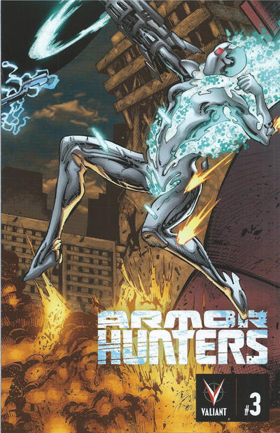 Cover for Armor Hunters (Valiant Entertainment, 2014 series) #3 [Cover C - Trevor Hairsine]
