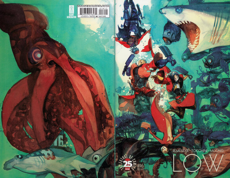 Cover for Low (Image, 2014 series) #16 [Cover B]