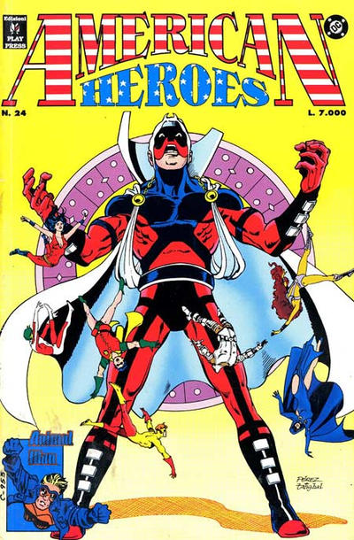 Cover for American Heroes (Play Press, 1991 series) #24