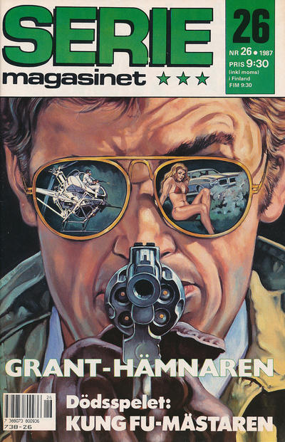 Cover for Seriemagasinet (Semic, 1970 series) #26/1987