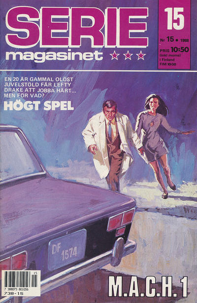 Cover for Seriemagasinet (Semic, 1970 series) #15/1988