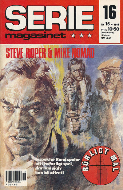 Cover for Seriemagasinet (Semic, 1970 series) #16/1988