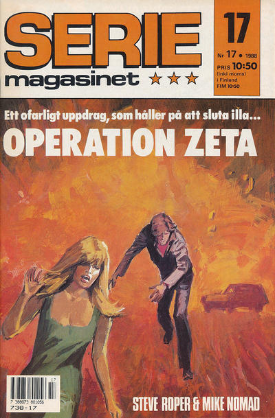 Cover for Seriemagasinet (Semic, 1970 series) #17/1988