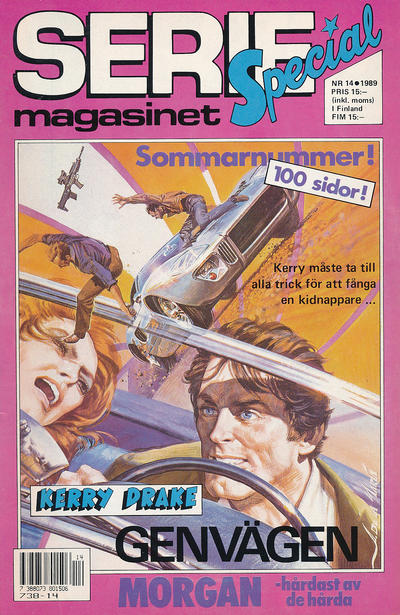 Cover for Seriemagasinet (Semic, 1970 series) #14/1989