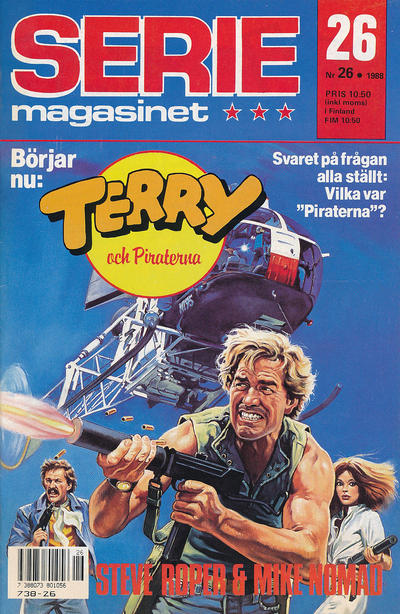 Cover for Seriemagasinet (Semic, 1970 series) #26/1988