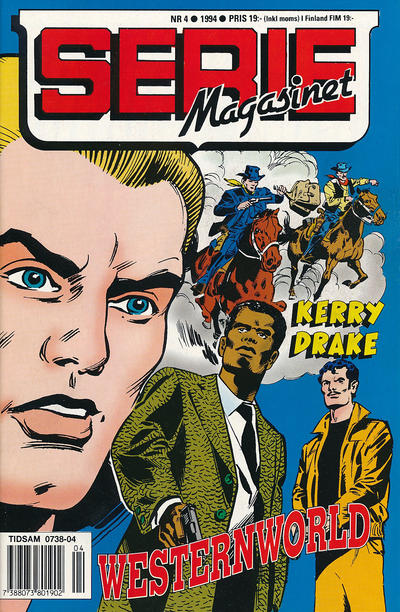 Cover for Seriemagasinet (Semic, 1970 series) #4/1994