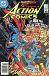 Cover for Action Comics (DC, 1938 series) #550 [Newsstand]