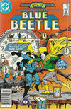 Cover Thumbnail for Blue Beetle (1986 series) #10 [Newsstand]