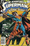 Cover for Adventures of Superman (DC, 1987 series) #425 [Canadian]