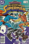 Cover for Adventures of Superman (DC, 1987 series) #437 [Canadian]