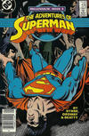 Cover for Adventures of Superman (DC, 1987 series) #436 [Canadian Newsstand]