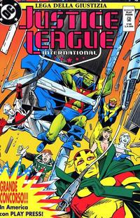 Cover Thumbnail for Justice League [Lega della Giustizia] (Play Press, 1990 series) #25