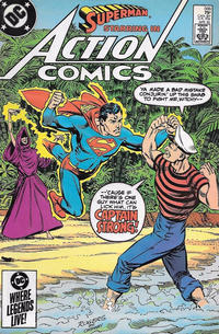 Cover Thumbnail for Action Comics (DC, 1938 series) #566 [Direct]