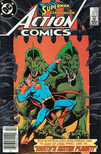 Cover Thumbnail for Action Comics (DC, 1938 series) #576 [Newsstand]