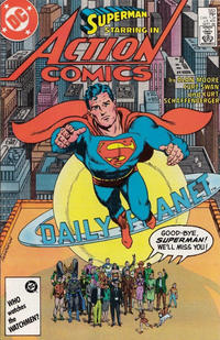 Cover Thumbnail for Action Comics (DC, 1938 series) #583 [Direct Sales]