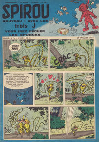 Cover Thumbnail for Spirou (Dupuis, 1947 series) #980