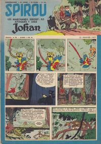Cover Thumbnail for Spirou (Dupuis, 1947 series) #978