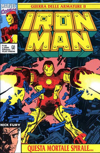 Cover Thumbnail for Iron Man (Play Press, 1989 series) #45