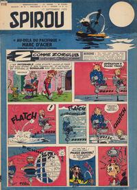Cover Thumbnail for Spirou (Dupuis, 1947 series) #1118