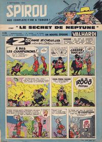 Cover Thumbnail for Spirou (Dupuis, 1947 series) #1116