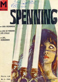 Cover Thumbnail for Spenning (Serieforlaget / Se-Bladene / Stabenfeldt, 1965 series) #6/1965
