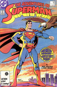 Cover Thumbnail for Adventures of Superman (DC, 1987 series) #424 [Direct]