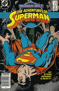 Cover for Adventures of Superman (DC, 1987 series) #436