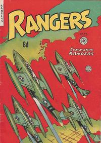Cover Thumbnail for Rangers Comics (H. John Edwards, 1950 ? series) #25