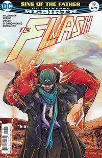 Cover Thumbnail for The Flash (DC, 2016 series) #19 [Carmine Di Giandomenico Cover]